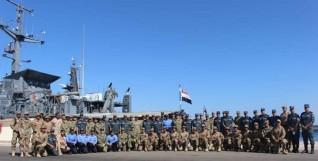 إنطلاق فعاليات التدريب البحرى المصرى الأمريكى المشترك