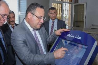 محافظة الإسكندرية تتسلم أول شاشة تفاعلية لجهاز حماية المستهلك لتلقي شكاوى المواطنين إلكترونيا