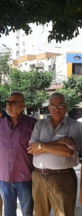 قيادات نهضة مصر  تسير على ألأقدام فى شوارع ألإسكندرية لوضع ألخطط المناسبة للأرتقاء بمنظومة النظافة