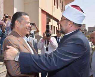 محافظ بني سويف يستقبل وزير الأوقاف في مستهل زيارته للمحافظة