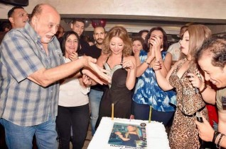 نانسي أبوحجر تحتفل بعيد ميلاد رشا عادل في الزمالك