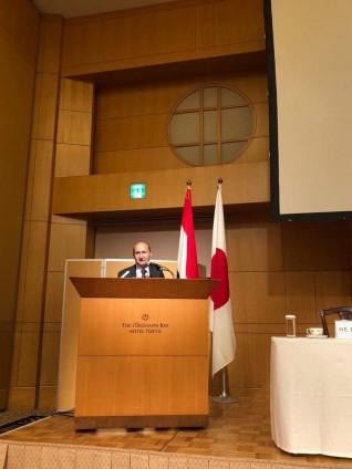 وزيرا التجارة والإستثمار يفتتحان منتدى الأعمال والإستثمار المصرى الياباني