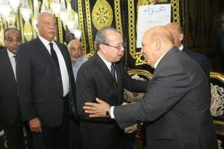 محافظ كفرالشيخ يقدم واجب العزاء في المهندس عبدالمنعم النحاس