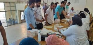 بدء الكشف الطبي الشامل على الطلاب الجدد بجامعة كفر الشيخ