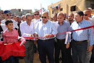 وزير الزراعة يفتتح محطة ري بالطاقة الشمسية