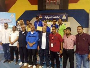 """جامعة كفر الشيخ تحصد 4 ميداليات في منافسات أسبوع شباب الجامعات الثاني"""" لمتحدي الإعاقة """""""