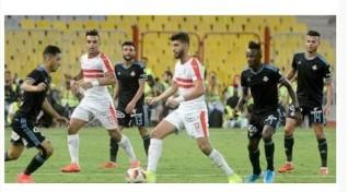 الزمالك يسحق بيراميدز بثلاثية ويحصل علي كأس مصر