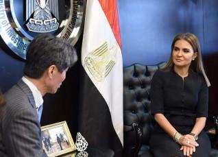 اتفاق على زيادة التعاون الاقتصادى والاستثمارات اليابانية فى مصر