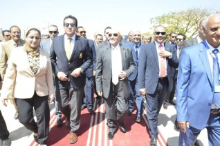 إفتتاح المعمل المصري الصيني المشترك للخلايا الشمسية بسوهاج