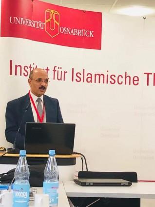 بدأ فاعليات ندوة تعاونية بين جامعة أوسنابروك وبين دار العلوم