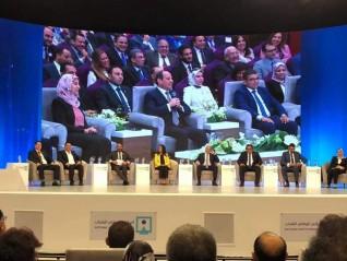 رئيس جامعة كفر الشيخ يشارك في المؤتمر الوطني الثامن للشباب