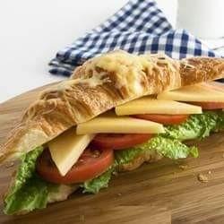 الكوروسون بجبنة الكرافت تشيدر من الشيف غادة عاطف