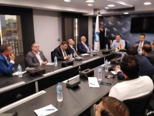 إجتماع أمانة قطاع الأعمال بحزب مستقبل وطن بحضور أمين قطاع أعمال البحر الأحمر