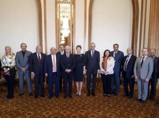 الخارجية تحتفل بسفير بيلاروس