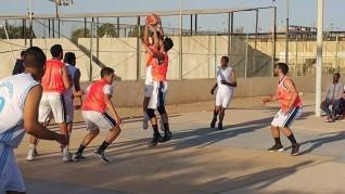 فوز كيما أسوان على قوص فى دورى كرة السلة رجال