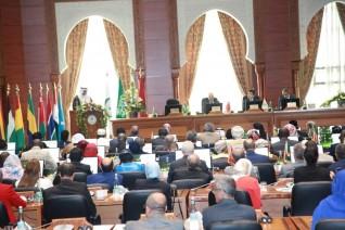عرض رؤية مصر لدمج الشباب فى العمل البيئي والتنمية المستدامة أمام مؤتمر الأيسيسكو بالرباط