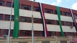 تعليم القليوبية يتزين بالأعلام احتفالا بنصر أكتوبر