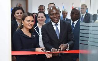"""وزيرة الإستثمار ورئيس صندوق """"إيفاد"""" يفتتحان مكتباً إقليميا للصندوق فى القاهرة"""