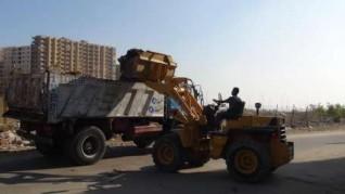 حملات مكثفة للنظافة وضبط  المخالفات بمركز أبوقرقاص بالمنيا