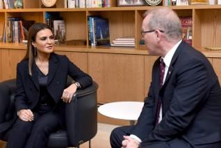 مصر وسويسرا تتفقان على زيادة العلاقات التنموية والاستثمارية بين البلدين