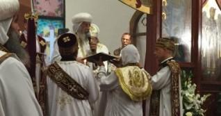 البابا تواضروس يترأس القداس الإلهى شمال فرنسا