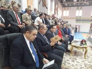 جامعة كفر الشيخ  تشارك في الإحتفال بانتصارات أكتوبر المجيدة بقاعدة محمد نجيب العسكرية