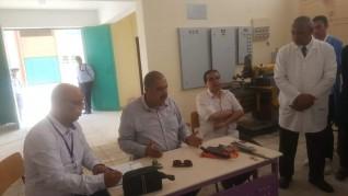 النيلي يتابع مسار العملية التعليمية بالمدرسة النووية بمدينة الضبعة