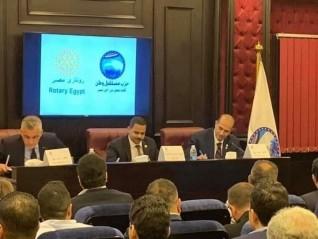 """تعاون بين """"روتاري مصر"""" و """"مستقبل وطن"""" لتنظيم قوافل طبية بالمحافظات"""