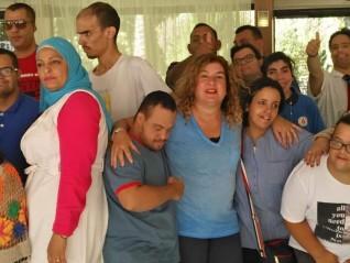 """روتاري الشروق"""" و """"جمعية الغد المشرق"""" يحتفلان بالأطفال ذوي الاحتياجات الخاصة"""