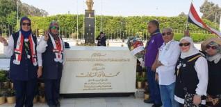 رواد الكشافة ببيلا ورواد أهرامات الجيزة يحتلون بانتصار أكتوبر وعيد القوات الجوية