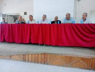 تعرف على جدول أعمال الإجتماع الأسبوعي لمديري الجمعيات الزراعية بابشواي الفيوم