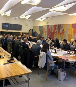 المجلس الإستشاري لعاصمة الفنون الأدائية العالمية يعقد أجتماعه الأول في باريس
