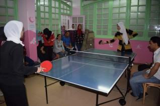 إنطلاق بطولة تنس الطاولة للمدن الجامعية بسوهاج