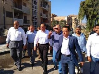 محافظ الشرقية يتفقد الشوارع و مدرسة أبو حماد الثانوية الفنية