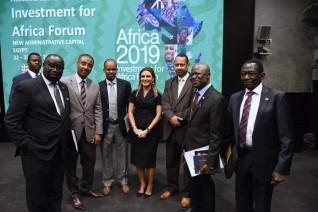 وزيرة الإستثمار تبحث مع السفراء الأفارقة ترتيبات منتدى افريقيا 2019