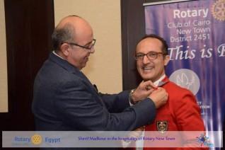 تكريم شريف مدكور بالعضوية الفخرية لنادي روتاري كايرو
