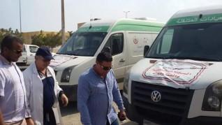 رئيس مدينة مرسى علم يتابع أعمال القافلة الطبية