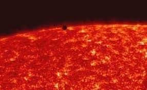 عبور كوكب عطارد أمام الشمس يوم الإثنين القادم