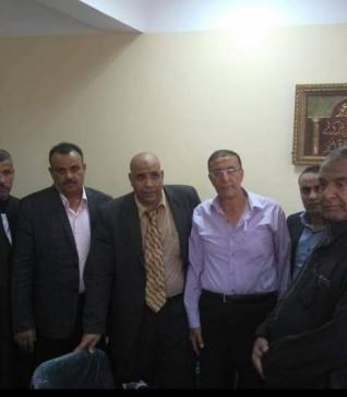 ابوزيد يتدخل لحل مشكلة  اهالي جزيرة نكلا