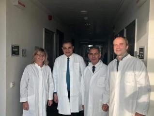 رئيس جامعة كفر الشيخ يبحث تعزيز الشراكة مع معهد فريدرش لوفلر