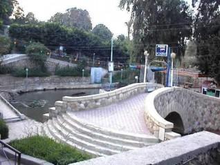"""منطقة عين السيلين السياحية بالفيوم تبحث عن إعادة أيام الزمن الجميل """""""