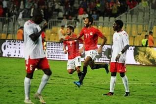 المنتخب المصري يتعادل مع كينيا في مستهل مشواره الافريقي بملعب برج العرب