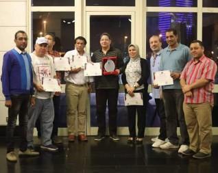 الملتقى الدولي للمسرح الجامعي يكرم العاملين بالهناجر