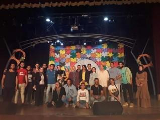 تكريم أبطال مسرحية عناية خاصة فى مهرجان فرق هواة المسرح