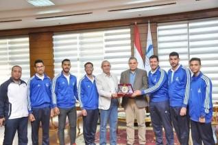 جامعة كفر الشيخ  تشارك في برنامج معايشة مع طلاب كلية الشرطة