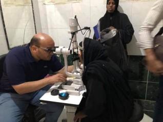 """قافلة """"نور العيون"""" لـ """"روتاري مصر"""" تجري 70 عملية جراحية بأسوان"""