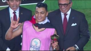 البلدوزر الجديد مصطفي محمد هدافا لكأس الامم الإفريقية تحت 23