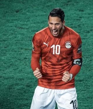 العفيجي رمضان صبحي رجل مباراة نهائي مصر وكوت ديفوار تحت23