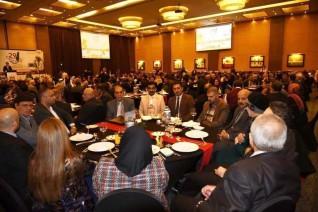 تكريم ملتقى الفنانين العرب الدولى لعدد من سفراء الدول العربية بأربيل.