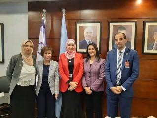 أكاديمية البحث العلمى تشارك باجتماع الابتكار التكنولوجى وريادة الأعمال فى الأردن